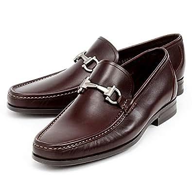(フェラガモ) FERRAGAMO 14s/s MAGNIFICO 革靴/ビットローファー_HICKORY MAGNIFICO HJ160523 (US6.5(約25.5cm)) [並行輸入品]