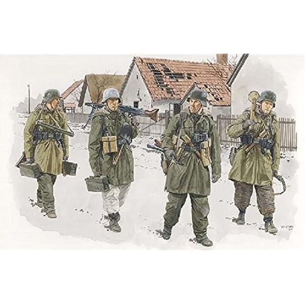 Amazon | プラッツ 1/35 第二次世界大戦 ドイツ武装親衛隊 装甲擲弾兵 ...