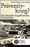 Präventivkrieg?: Der deutsche Angriff auf die Sowjetunion. (Die Zeit des Nationalsozialismus) (German Edition) 画像