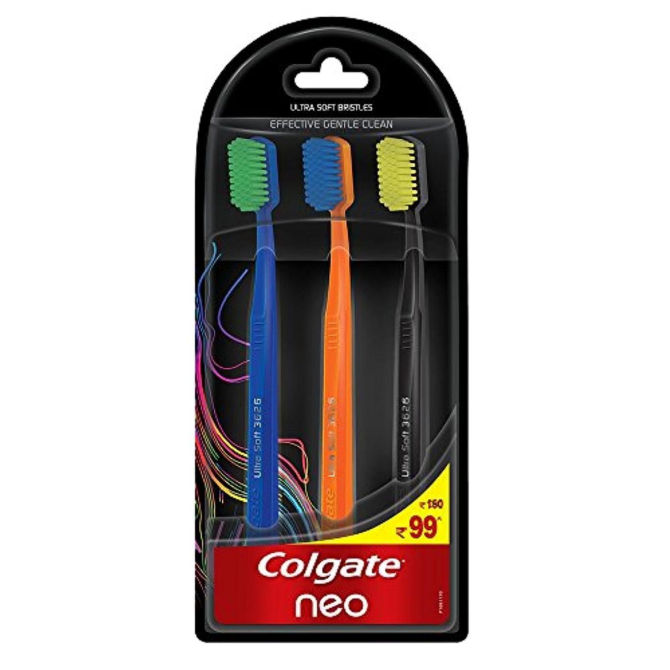 素朴な性別鬼ごっこColgate Neo Toothbrush Effective Gentle Clean