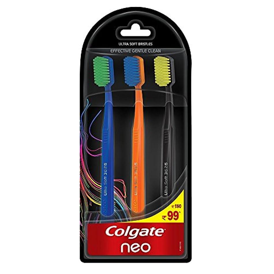 馬鹿げた質素な保持Colgate Neo Toothbrush Effective Gentle Clean