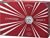 Callaway(キャロウェイ) CHROME SOFT ゴルフボール(1ダース12個入り)2016年モデルボールカラーホワイト ユニセックス 6421253120044 ホワイト