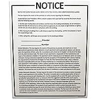 NYC記事312 – 「注目のsuspectedガスリーク、煙検出デバイス、およびCarbon Monoxide Alarm