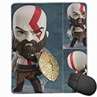 God of War Kratos 戦神 マウスパッド mouse pad ゲーム用 ミニサイズ 個性 DIY Atreus