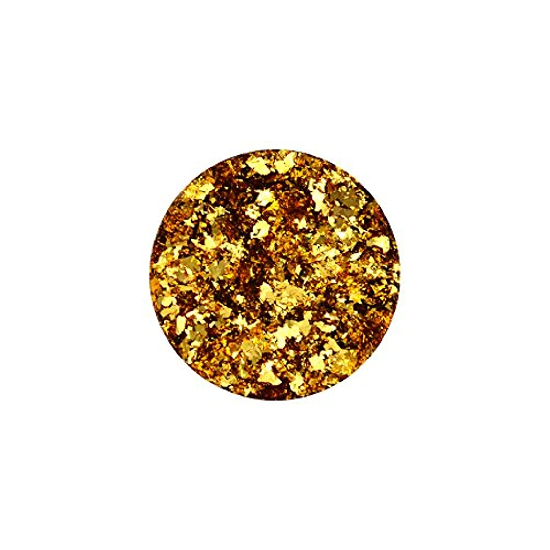 アトム利得購入乱切りパウダーホイル 【ゴールド】金箔 ホイル