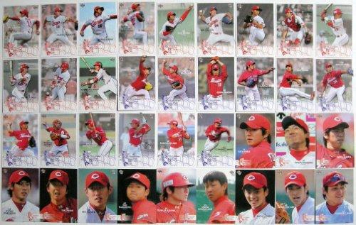BBM広島東洋カープ「若鯉」ベースボールカードセット2011 レギュラーコンプ全36種