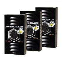 【まとめ買いセット】コンドーム タフブラック 12個入×3箱(計36個)