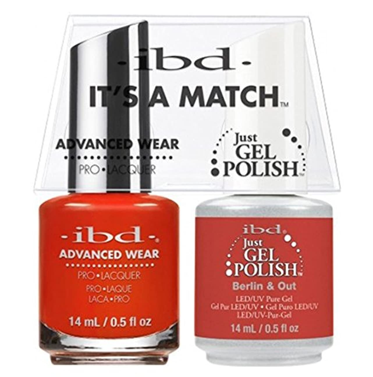 貫入ロードハウス大通りibd - It's A Match -Duo Pack- Destination Collection - Berlin & Out - 14 mL / 0.5 oz Each