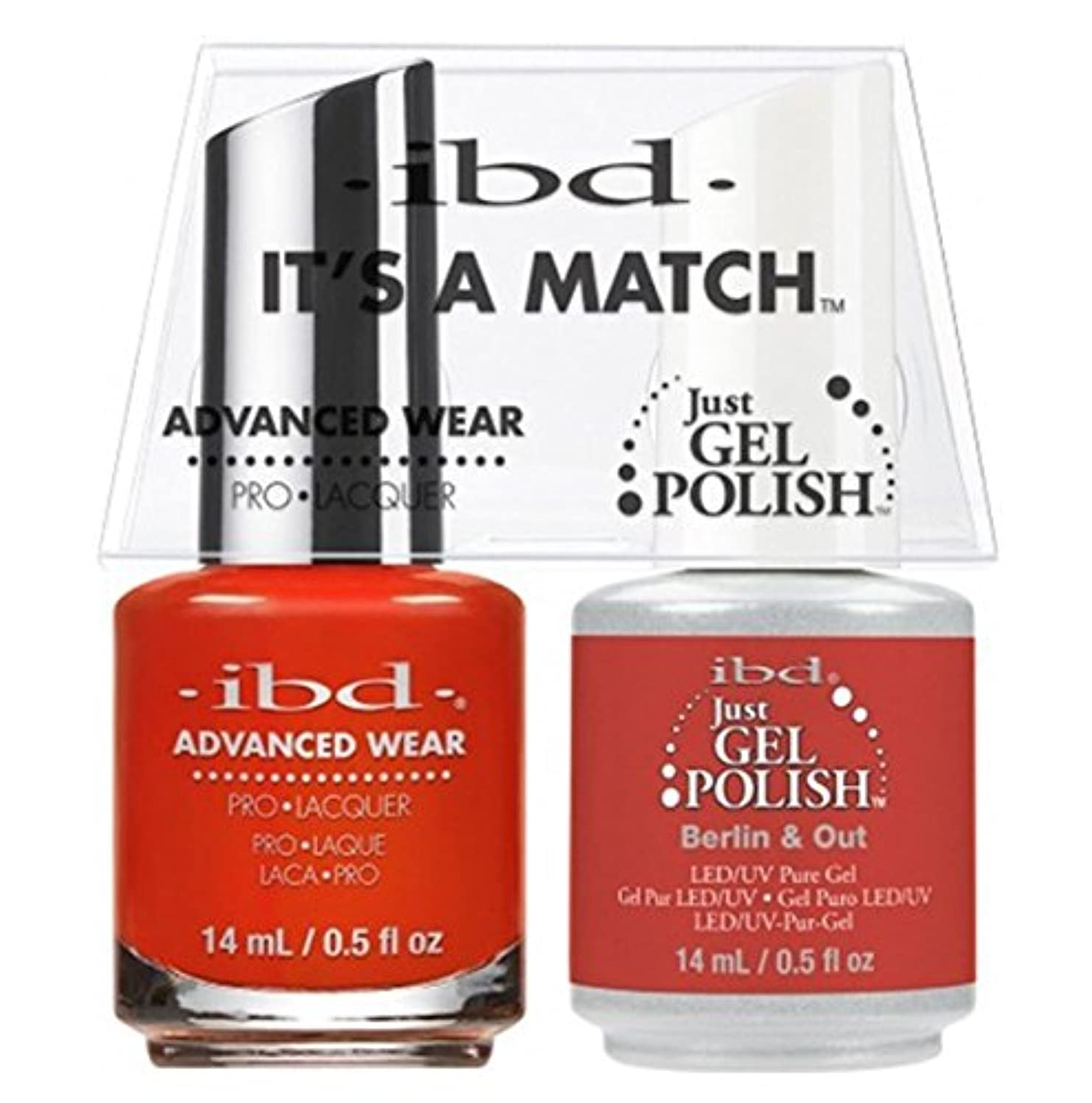 半導体集団的値ibd - It's A Match -Duo Pack- Destination Collection - Berlin & Out - 14 mL / 0.5 oz Each