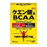 グリコ クエン酸&BCAA 12.4g×10本