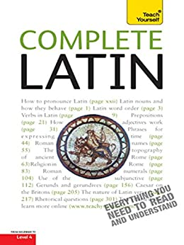 Complete Latin: Teach Yourself (Complete Languages) by [Betts, Gavin]