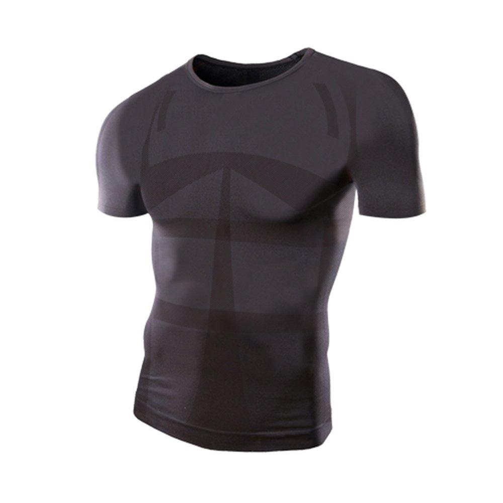 f7fbda0c1d355 モアプレッシャー(More Pressure) モアプレッシャー 加圧シャツ メンズ用 (半袖)