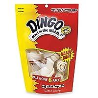 Dingo Brand Rawhide Bone Small 3.5, 6 ea by Dingo