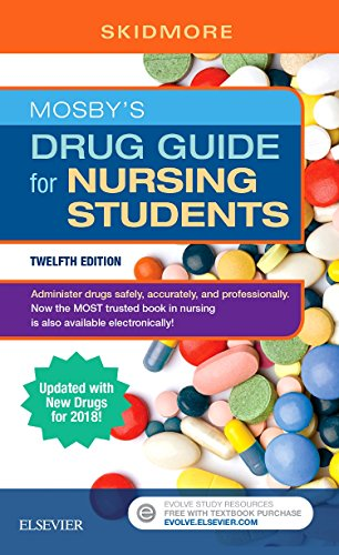 Download Mosby's Drug Guide for Nursing Students with 2020 Update, 13e 0323532829