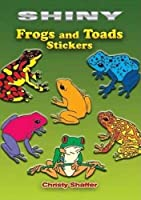 Shiny Frogs and Toads Stickers (Dover Little Activity Books Stickers)
