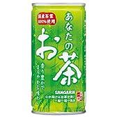 サンガリア あなたのお茶 190g×30本