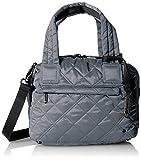 レスポートサック LeSportsac City Mayfair Bag Metallic Slate Quilted [並行輸入品]