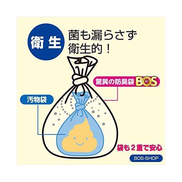 驚異の防臭袋 BOS (ボス) 非常用 トイレ...の紹介画像5