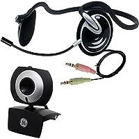 GE 1.3MP Minicam Pro Webカメラwith PCステレオヘッドセット