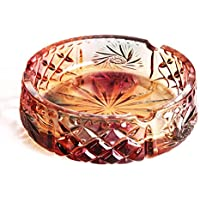 CKH ヨーロッパの彫刻灰皿創造的人格居間の傾向多機能ヨーロッパのガラス灰皿カラフルな釉