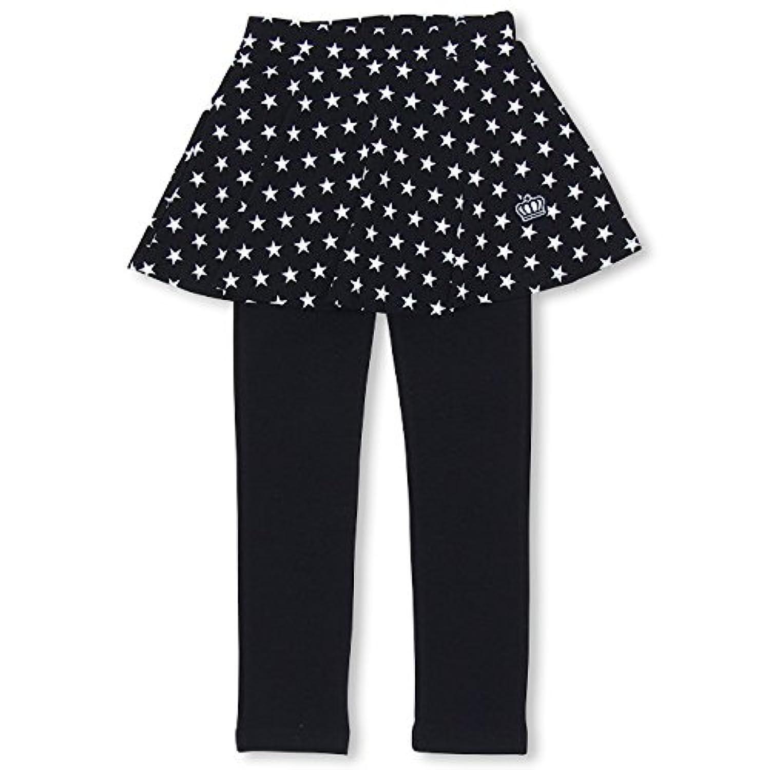 BABYDOLL(ベビードール) スカッツ スカート付 ウルトラストレッチパンツ 子供服 ベビー 90 6星柄/ブラック