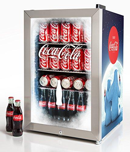 コカ・コーラ レトロ 冷蔵庫 68L 80缶 Nostalgia BC24COKE Coca-Cola 80-Can