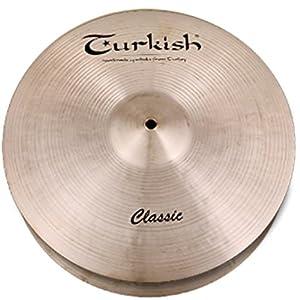 TURKISH ターキッシュ クラシック・シリーズ <ハイハット> 13インチ・トップ TU-CL13HTM 【国内正規品】