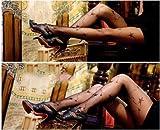 【 COS+ 】デザインタイツ ( シューティングスター ) セクシーな編みタイツを多数ご用意♪ファッションやコスプレの必須アイテム☆ セクシー ランジェリー ストッキング タイツ パーティー ハロウィン 衣装 仮装 二次会 撮影会 ゴスロリ