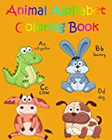 Animals A-z: Coloring Book for Kids