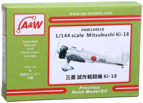 A&W Models 1/144 三菱 試作戦闘機 キ-18 プラモデル