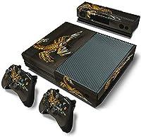 ModFreakzTM Console/Controller Vinyl Skin Set - Gold Robot Scorpion for Xbox One Original [並行輸入品]
