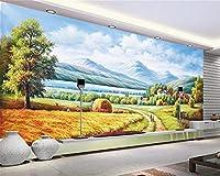 Bzbhart 写真の壁紙 400Cmx280Cm カスタム壁紙写真壁画Papier Peint油絵風景テレビ背景壁リビングルーム寝室レストラン壁紙