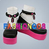★サイズ選択可★女性23CM UA0180 VOCALOID 結月ゆかり コスプレ靴 ブーツ