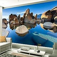 Jason Ming カスタム写真の壁紙壁画3D立体風景の壁壁画リビングルームの寝室の壁画現代の3D-150X120Cm