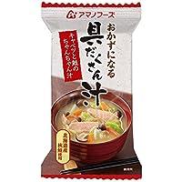 アマノフーズ キャベツと鮭のちゃんちゃん汁 17.5g×4個