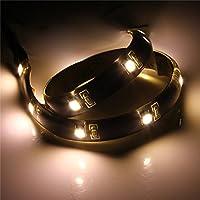 クインウィンド LED ストリップ30cm 光3528防水 USB ポートケーブル超ブライト DC 5v - ウォームホワイト