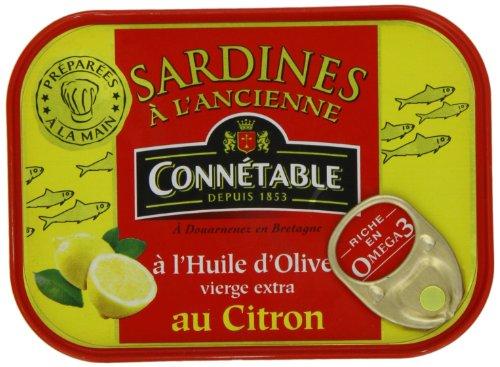 コネタブル オリーブオイルサーディンレモン風味 115g