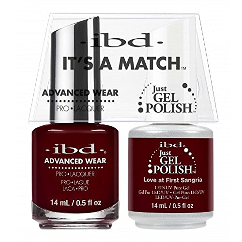 ずっと指トレイルibd - It's A Match -Duo Pack- Love Lola Collection - Love at First Sangria - 14 mL / 0.5 oz Each
