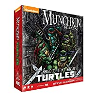 Munchkin Teenage Mutant Ninja Turtles Deluxe Card Game [並行輸入品]