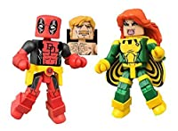 マーベル ミニメイツシリーズ デッドプール&サイリーン(Marvel MiniMates Series 65 SECRET WARS DEADPOOL & X-FORCE SIRYN Figure 2 PK)