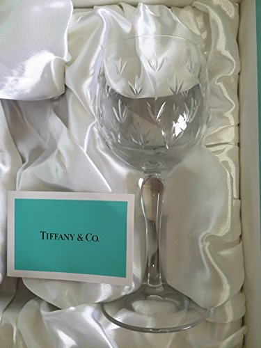 ティファニー TIFFANY&CO. フローレット ペア ワイングラス [並行輸入品]