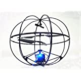 [Present-web] ROBOTIC UFO!?ジャイロ搭載球体ボール型3ch赤外線ラジコンヘリコプター
