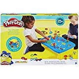 Play-Doh - Play 'n Store Table inc 6 Tubs of Dough & Accessories - Creative Kids Toys - Ages 3+