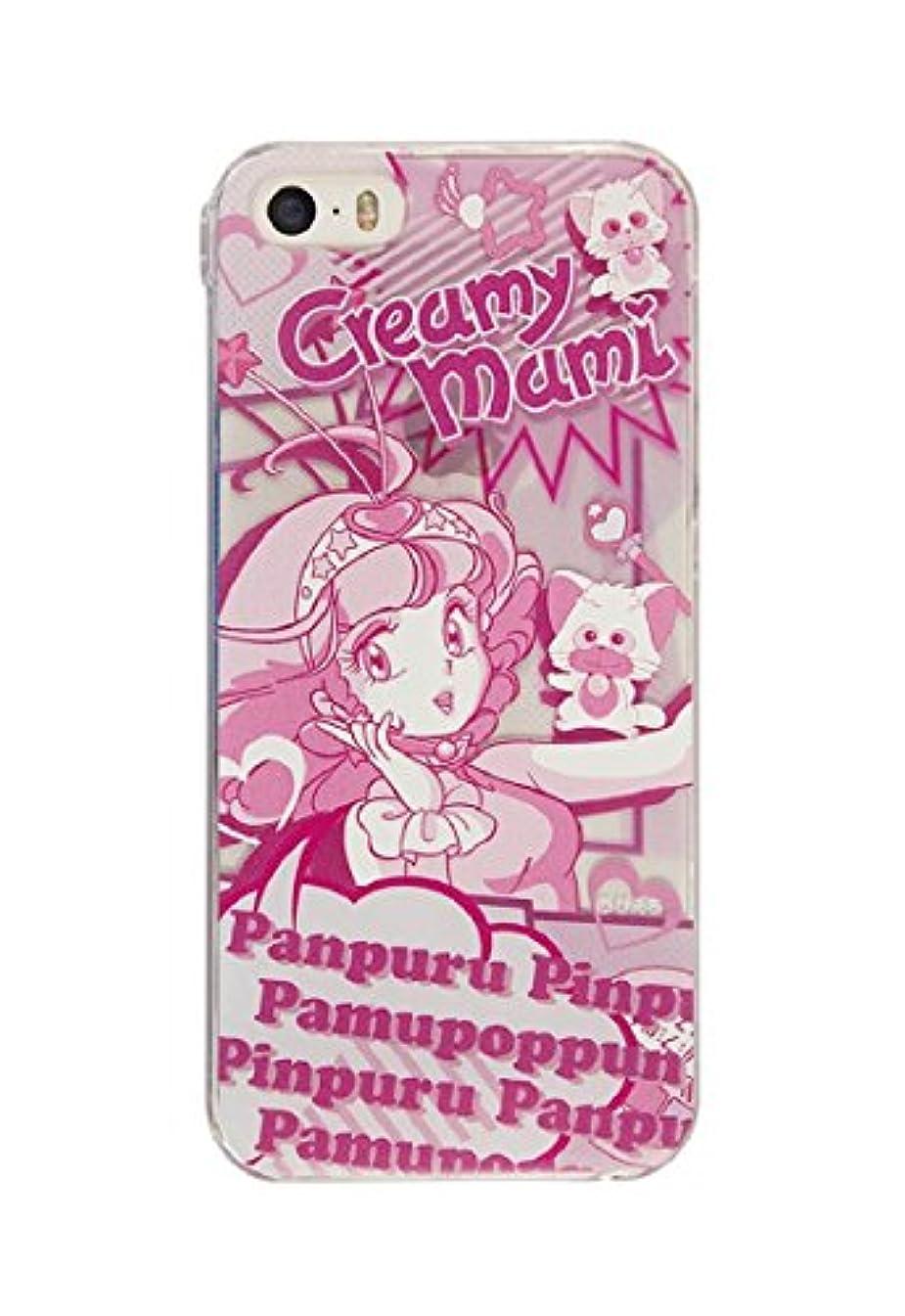 悲惨な懸念流すクリィミーマミ iPhone5s/5シェルジャケット PCM-04D コミック