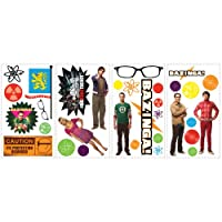 RoomMates RMK2166SCS Big Bang Theory Peel and Stick Wall Decals by York Wallcoverings [並行輸入品]