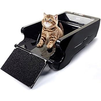 【全自動猫トイレ】ネイチャーズミラクル 全自動猫トイレ 活性炭フィルター消臭 タイマー付 68×41×24cm