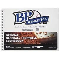 BP Athletics公式18プレーヤー野球/ソフトボールScorebook