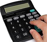 見やすい 打ちやすい 大型液晶と大型ボタン 楽々使える電卓 12桁