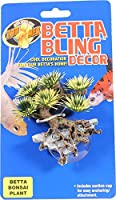Zoo Med Labs Ornament Betta Bling Bonsai Plant Cool Decoration Anchoring Attach