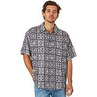 Silent Theory Men's Tile Mens Ss Shirt Short Sleeve Viscose